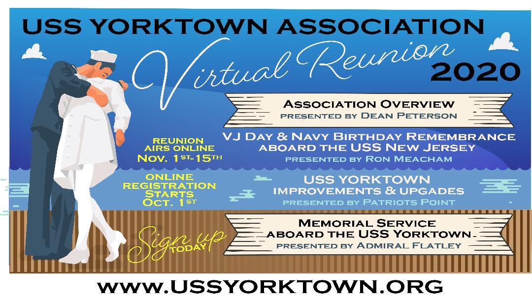 USS Yorktown CV10 Association, Registration Manager